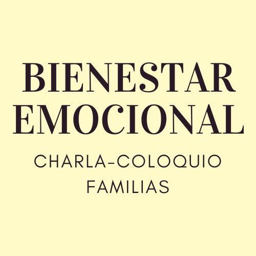 CHARLA-COLOQUIO PARA FAMILIAS